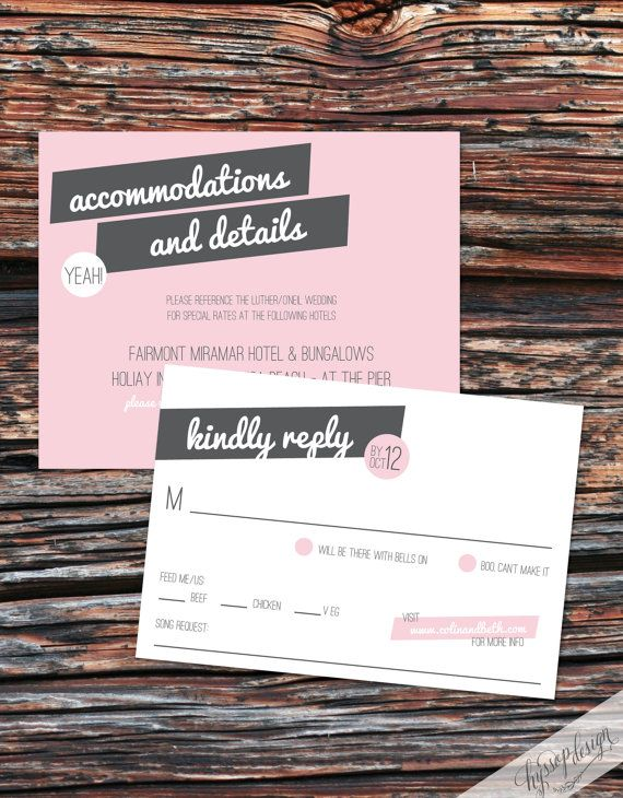 Printable Diy Sweet Pea Pink Grey Wedding Invitations By Hyssop Design