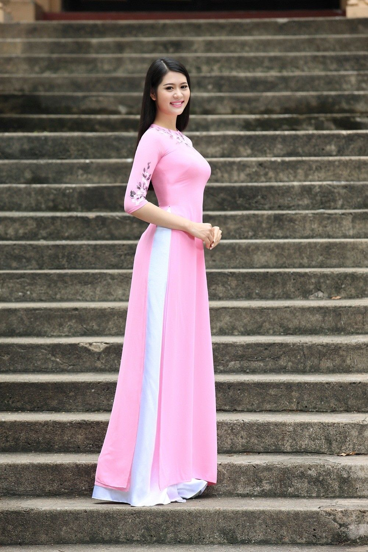 Vietnamese long dress   vestidos   Pinterest   Vestiditos