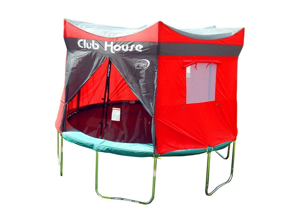 Trampoline Tent Clubhouse Cover 15 Ft Enclosure Playhouse Tarp