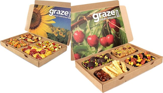 graze snack boxes great products snack box