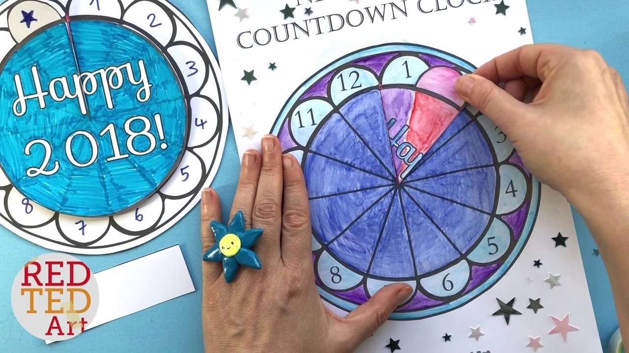 Photo of Countdown Clock DIY New Year's Eve Printable collab Hattifant