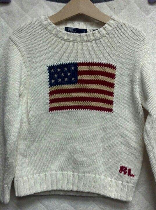 Ralph Lauren knit USA sweater