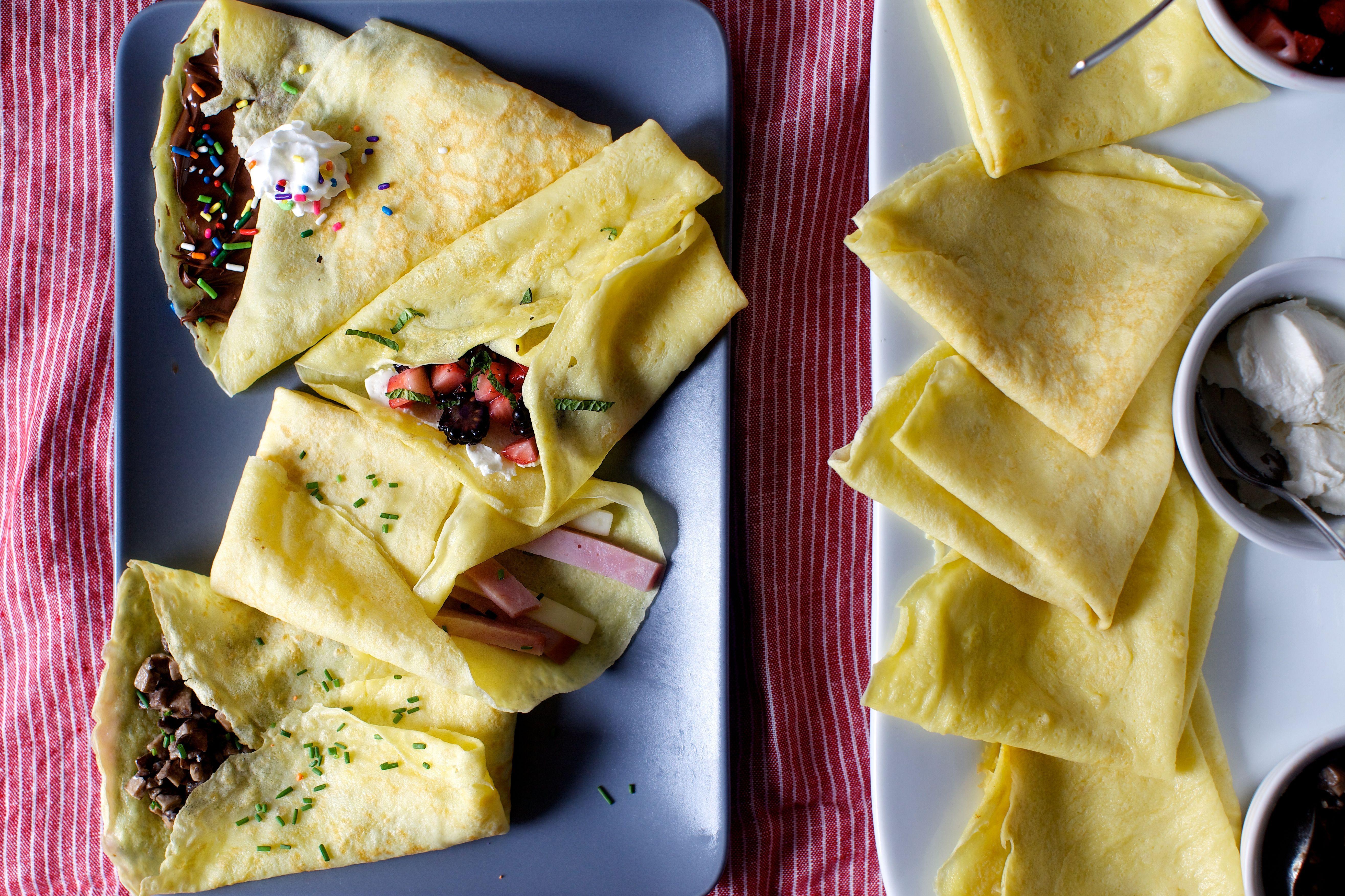 failproof crepes + a crepe party   Hauptspeise, Essen und Rezepte