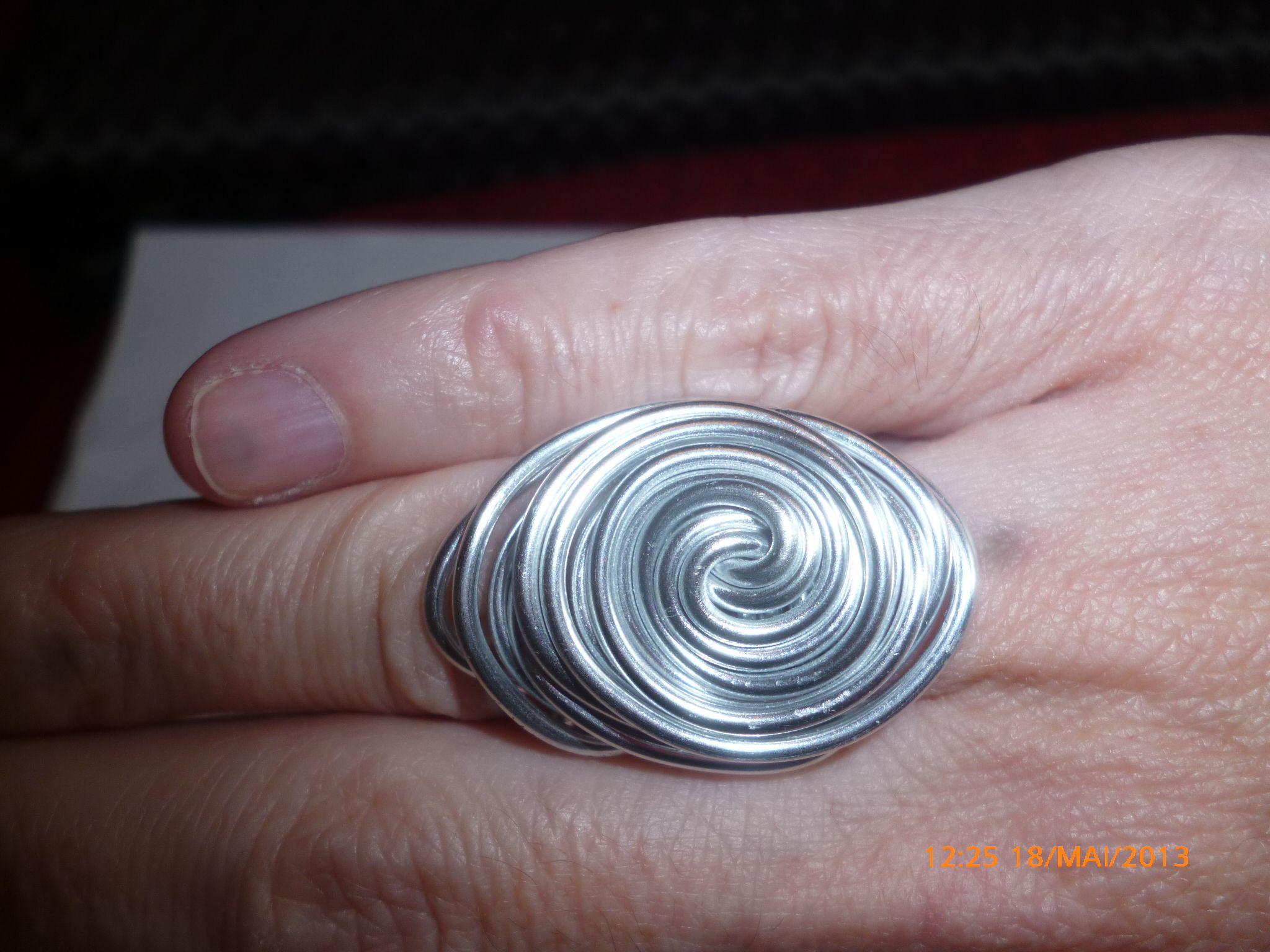 aluminium ring | Jewelry | Pinterest