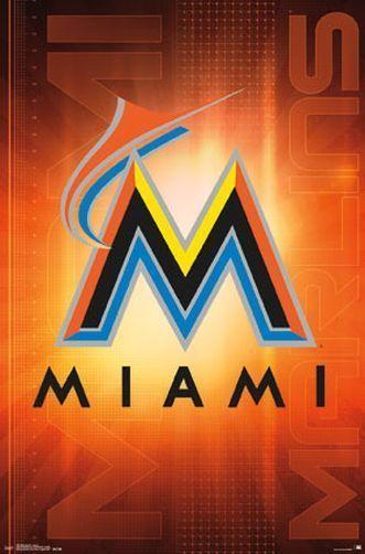 Miami Marlins Logo Wallpaper