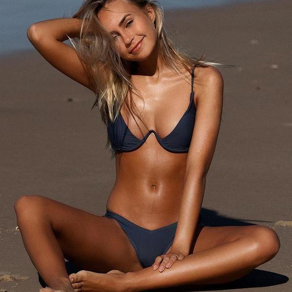 4b9983551d917 V-bar Push Up Bikinis - GYM WEAR TODAY