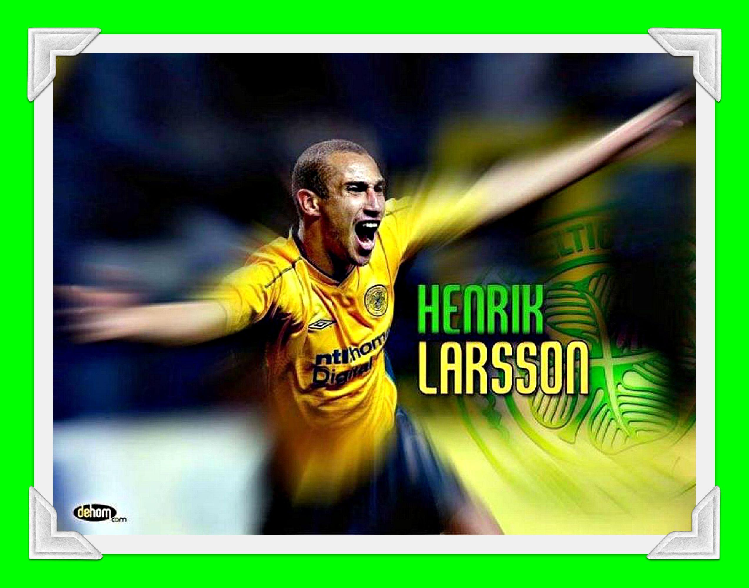 GB King Henrik Larsson YNWA HHH Celtic, Ynwa, Glasgow