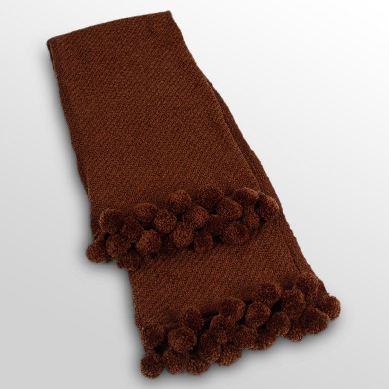 Jubilee Throw Chocolate - 087-023