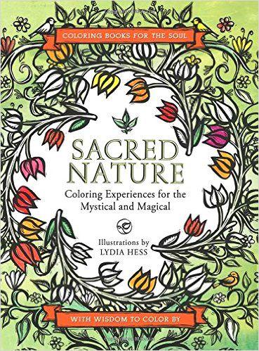 Arte-terapia: Sacred Nature   Color para sanar, Arteterapia ...