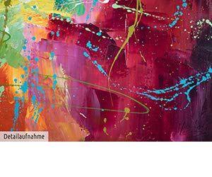 Kunstloft Bilder amazon.de: kunstloft® acryl gemälde 'bright future' 150x50cm