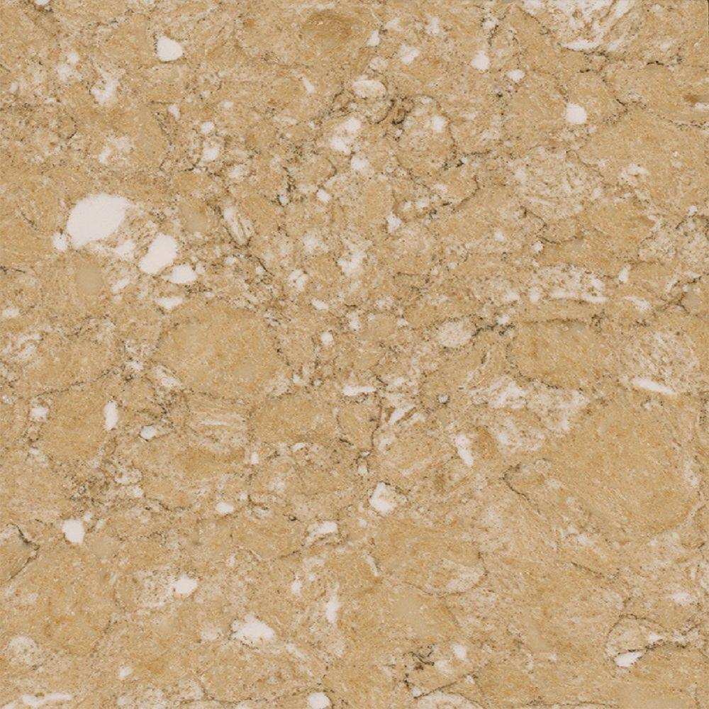 quartz countertop samples beige quartz countertop sample in sierralgmsl03vt the home depot lg hausys viatera in sierra