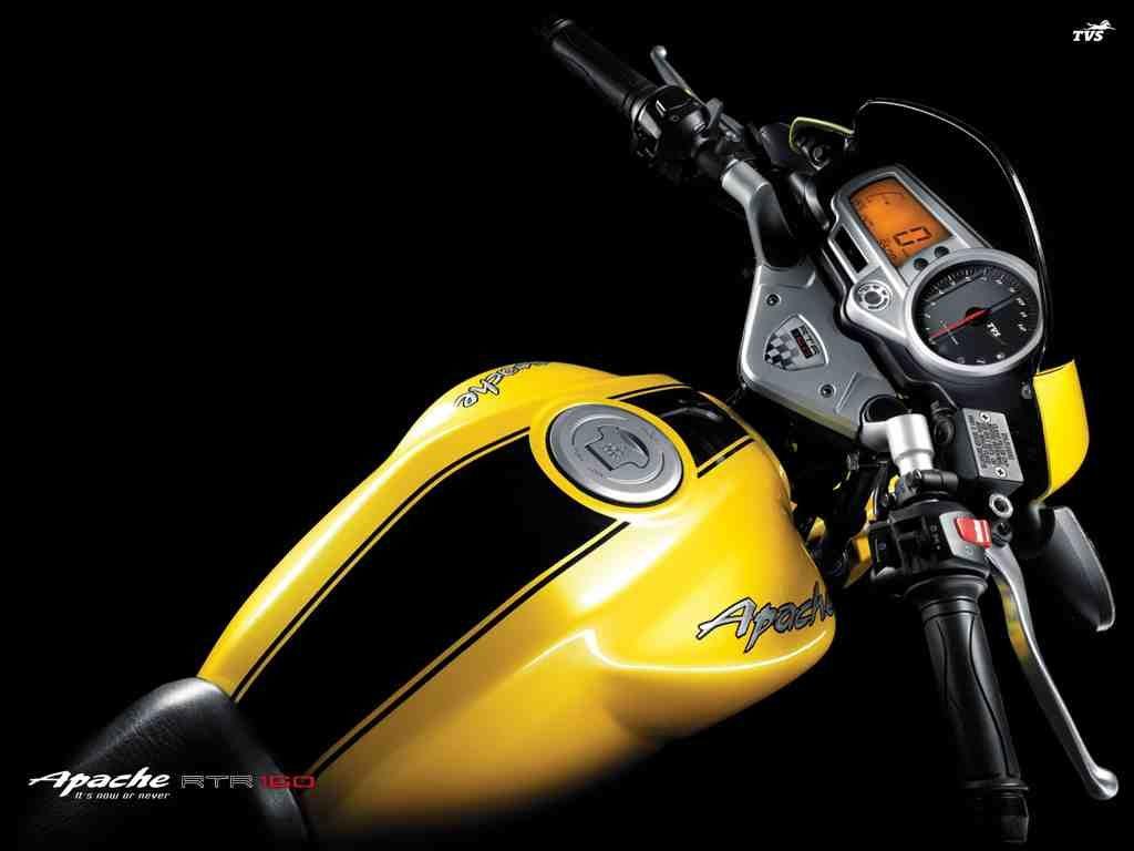 Apache 160 yellow colour dress