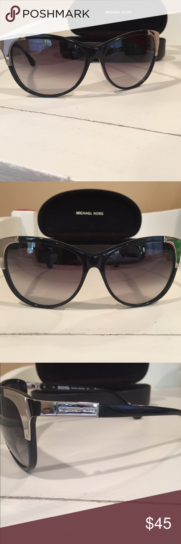 MICHAEL Michael Kors Sunglasses Authentic cat eye sunglasses. Never worn. Comes with case and cloth. MICHAEL Michael Kors Accessories Sunglasses