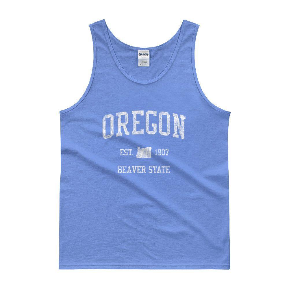 Vintage Oregon OR Tank Top Adult