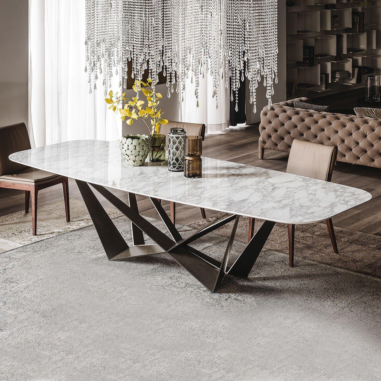 Risultati immagini per tavolo di marmo sedie | Tavoli da ...