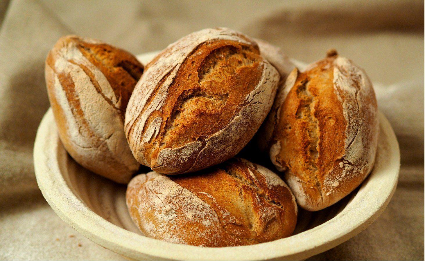 Rustikale Baguette-Brötchen No Knead | Rezept | bread and ...