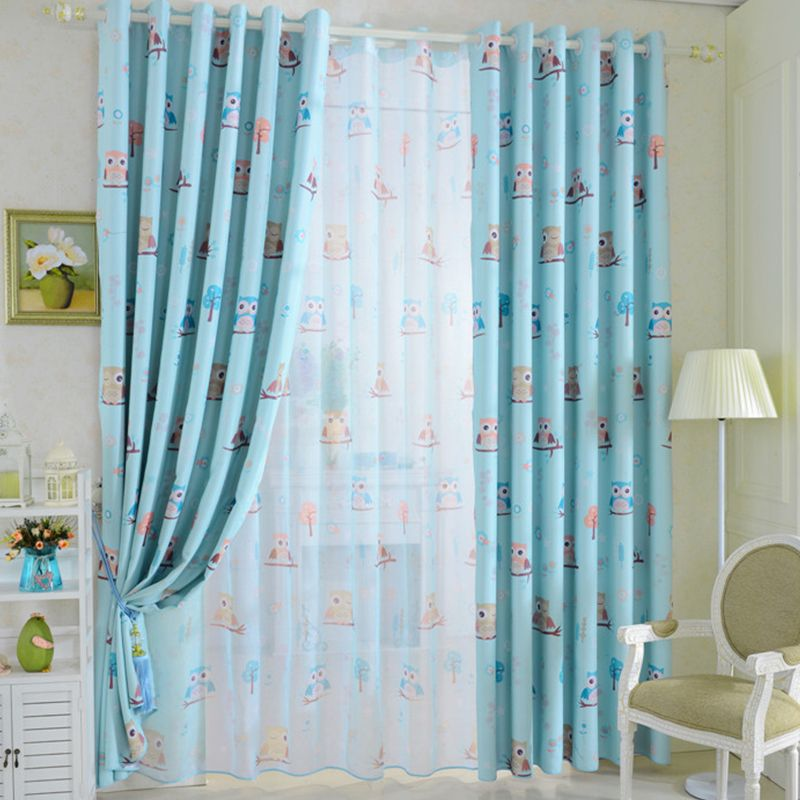 Owl Curtains – Blackout! Various colors, sizes and processings ...