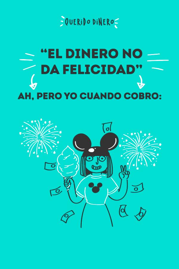 El Dinero No Da Felicidad Felicidad Finanzas Personales Dinero