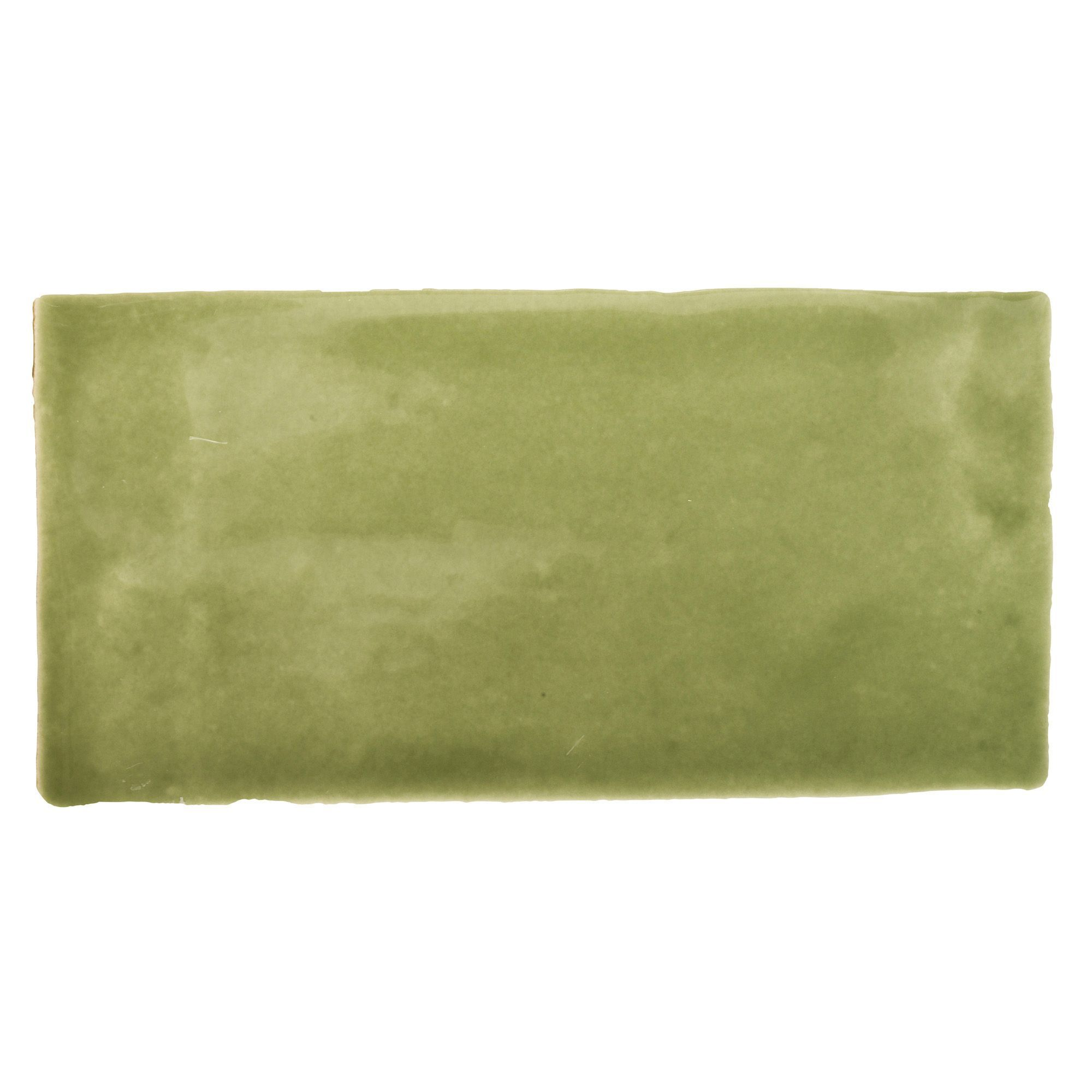 Bq Ceramic Kitchen Floor Tiles Padstow Olive Ceramic Wall Tile Pack Of 44 L150mm W75mm