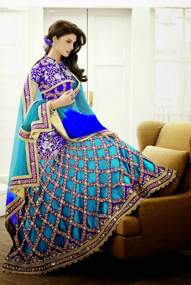 Bridal Lehenga Choli Collection For Fall/Winter Weddings By Avalon 2014-2015