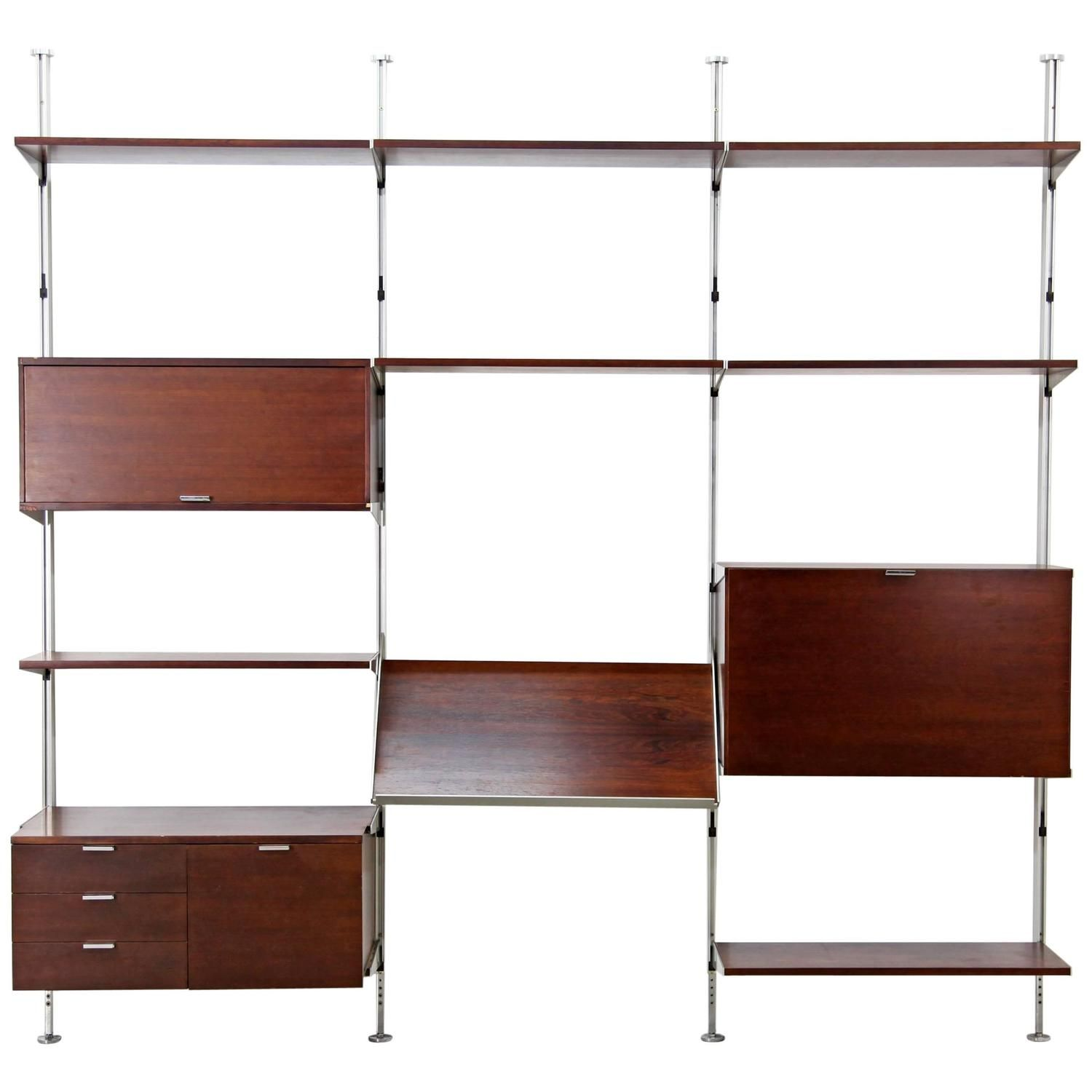 Css Free Standing Shelf By George Nelson For Herman Miller,