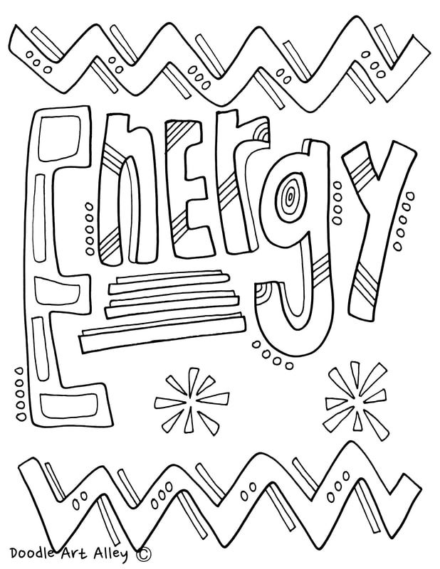 energy coloring pages at classroom doodles classroom With visual electricity