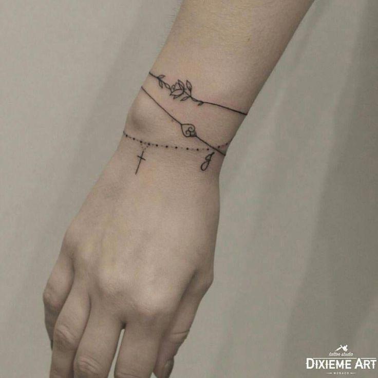 e02aec779b523 Tattoo artist by Rita Razminaite #tattoodesignswrist | Tattoo Ideen ...