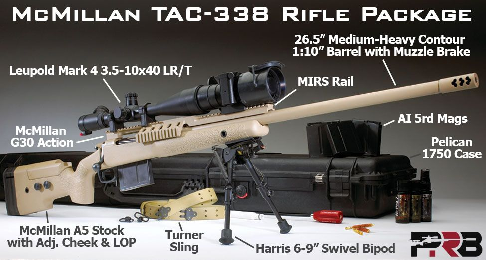 McMillan TAC-338 Rifle Package | Sport/Hunt/Fish/Camp | Tactical