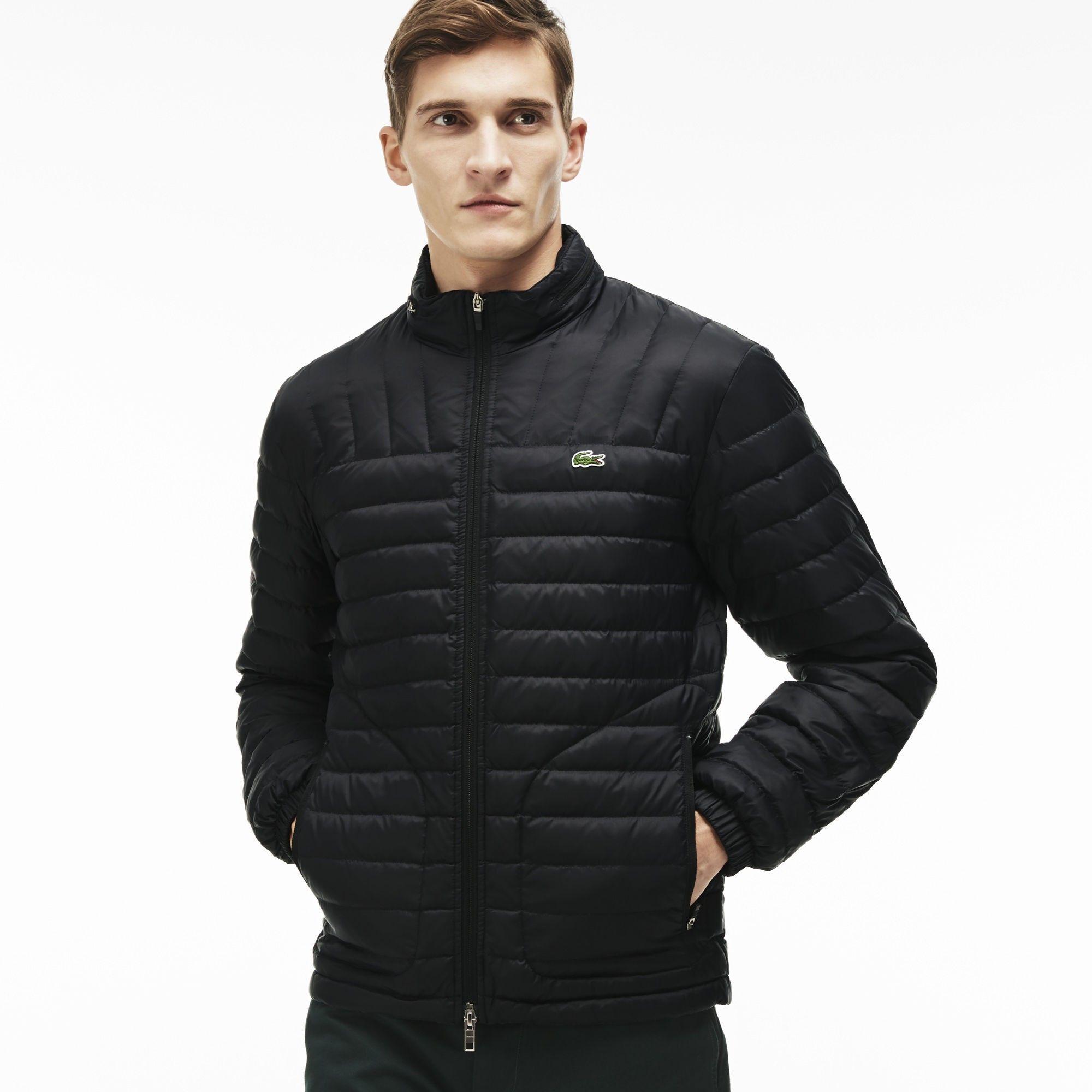 16496436ec LACOSTE Men'S Lightweight Jacket - Black. #lacoste #cloth #all ...