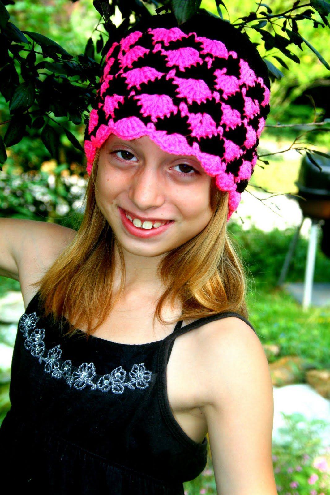 Cats-Rockin-Crochet Fibre Artist.: Catherine Wheel stitch Hat ...