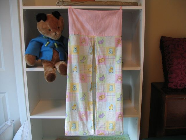 Diaper stacker tutorial. I find this one to be the simplest of all ...