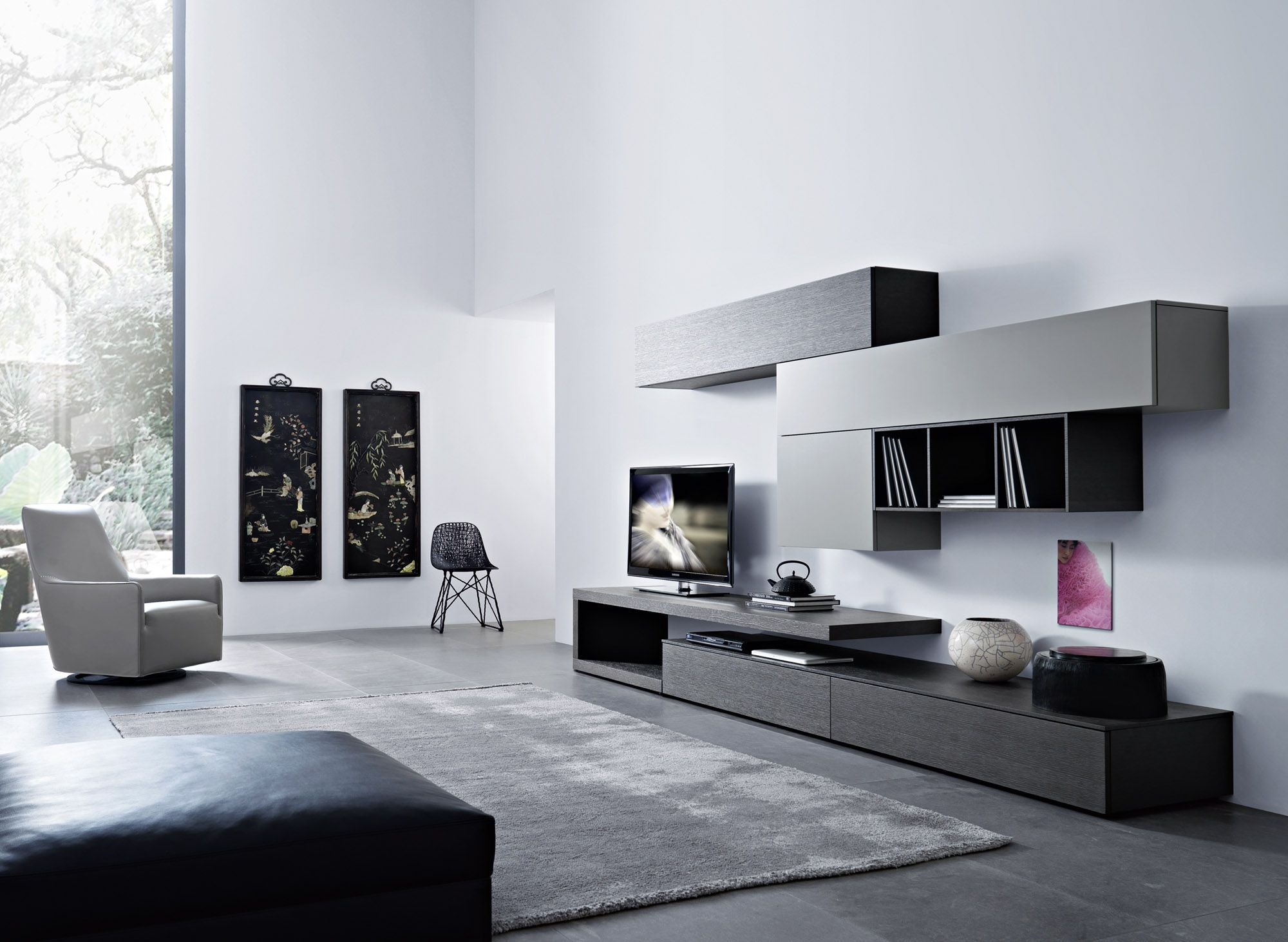 wohnwand sangiacomo inspiration auslaufmodelle. Black Bedroom Furniture Sets. Home Design Ideas