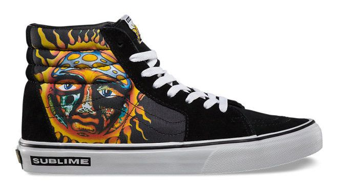 8e9f6ae3dcb ... limited edition for. Vans x Sublime Sk8 Hi 40oz. To Freedom 限量联名款
