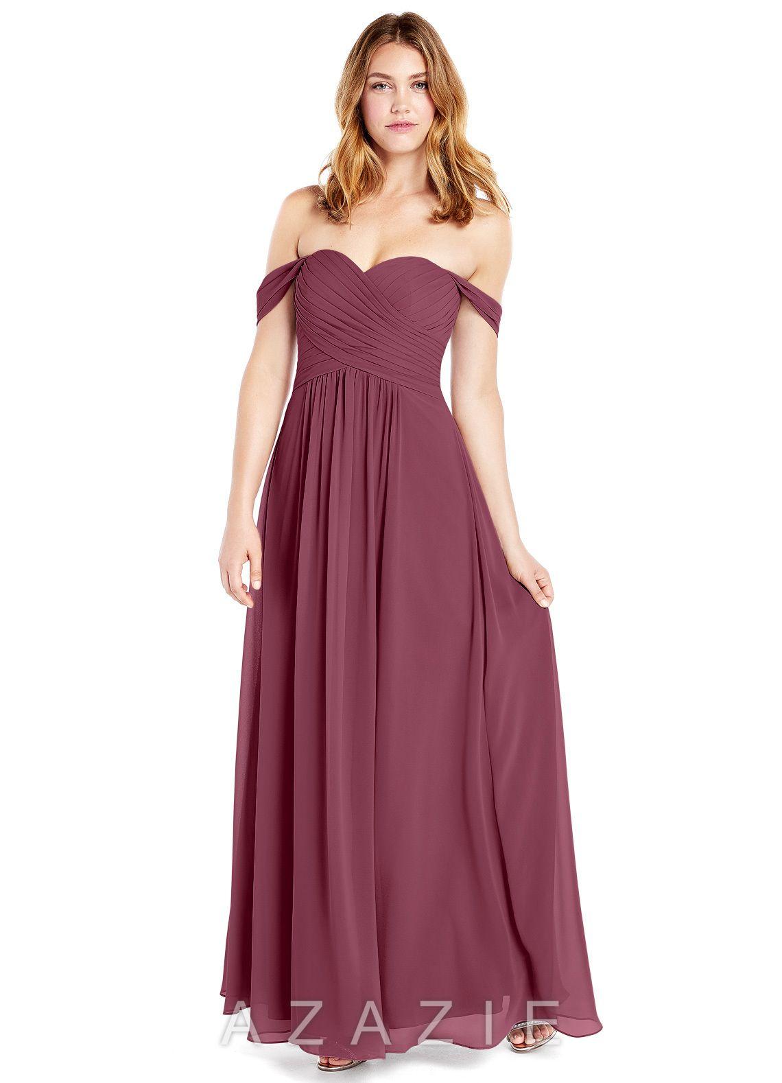 0c835c947a6 Azazie Corin Bridesmaid Dress - Dusty Rose