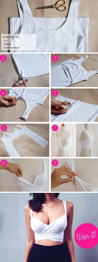 DIY wrap shirt!