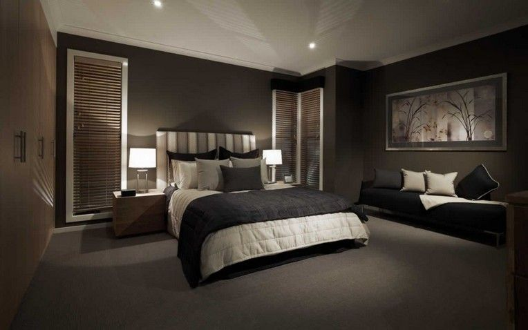 30 Classy Black Bedroom Design Ideas For Amazing Home Feature