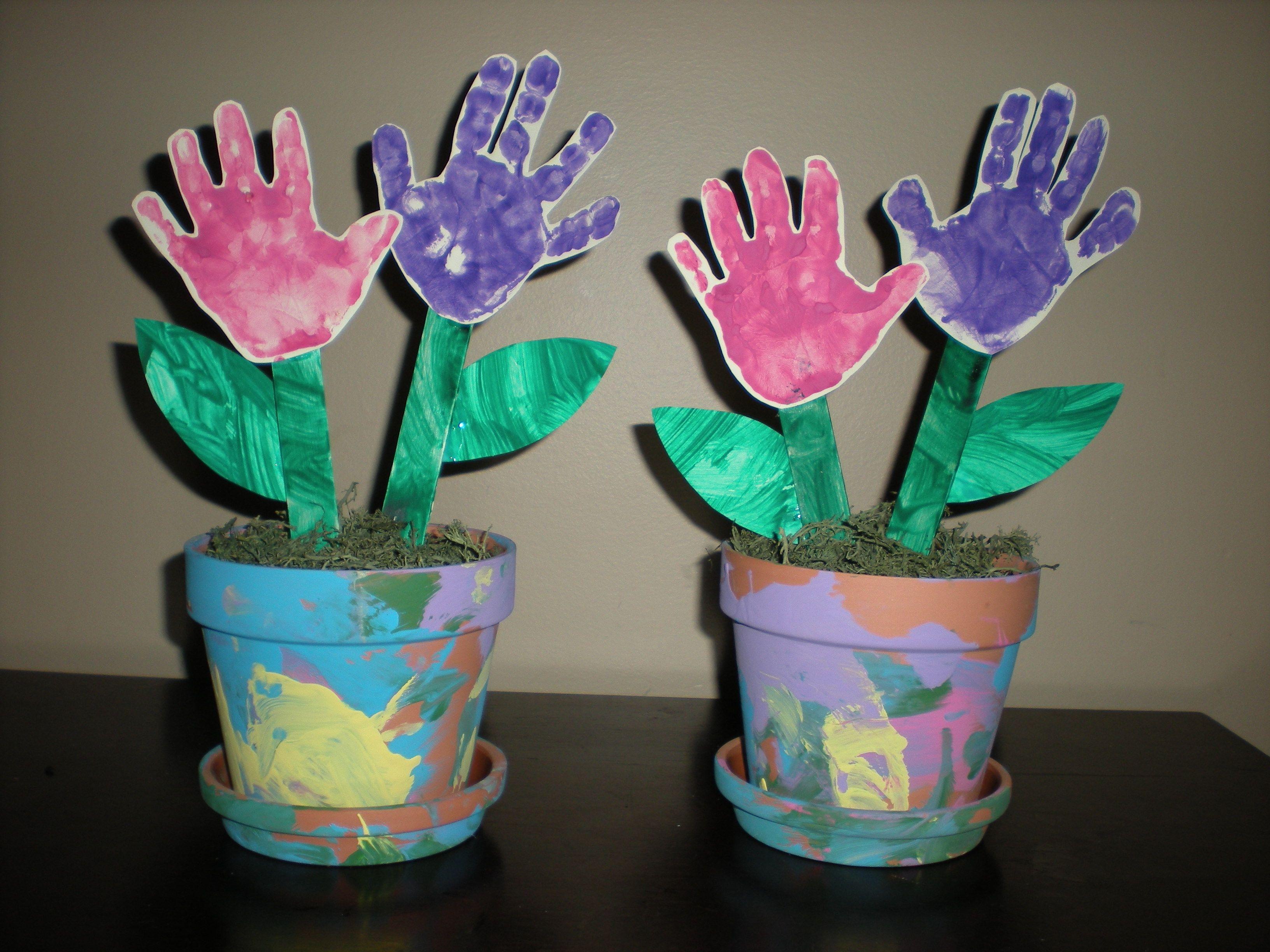 Crafts for a 3 year old - The Mother S Day Gift My Three Year Old And I Put Together For The Grandma S