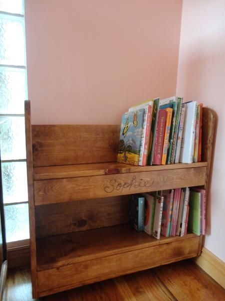 Library book cart do it yourself home projects from ana white library book cart diy projects solutioingenieria Gallery