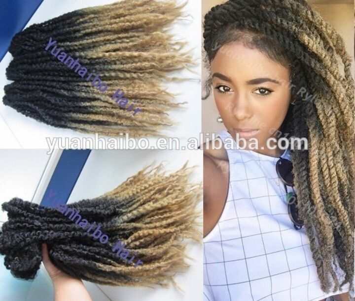 marley braid hair styles ombre marley twists protective and styles 5136