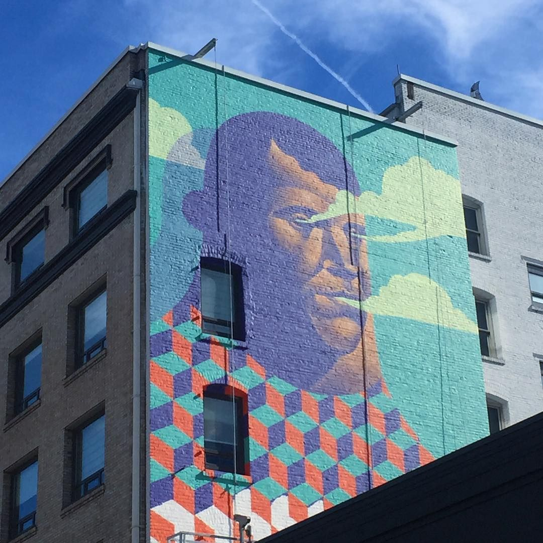 """""""Love This Mural That Went Up On SW Stark St In Portland"""