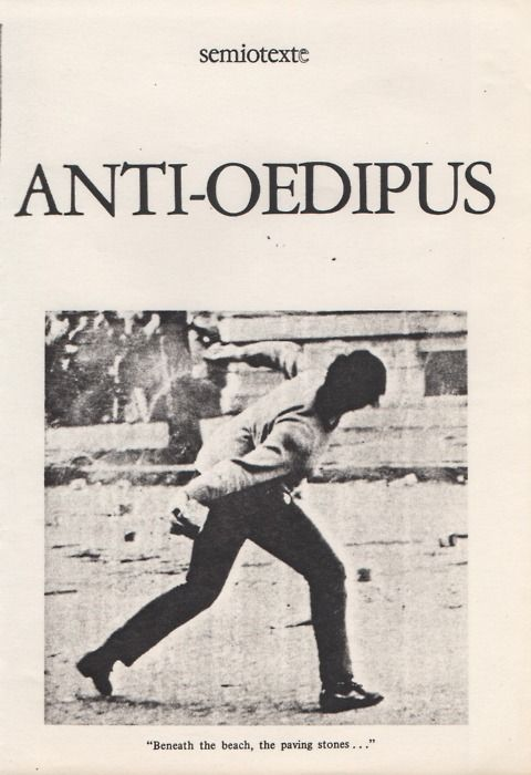 Image result for anti oedipus cover