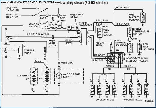 1997 ford f350 7.3 diesel wiring diagram