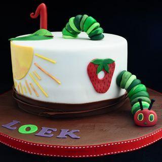 Rupsje nooitgenoeg taart