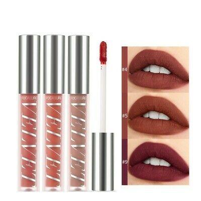 Flüssiger Lippenstift Samt Matt Sexy Lip Tint wasserdicht langlebiges Licht Make-up