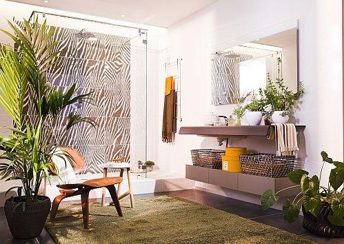 Kies de verschillende materialen in je badkamer u2022 jungle