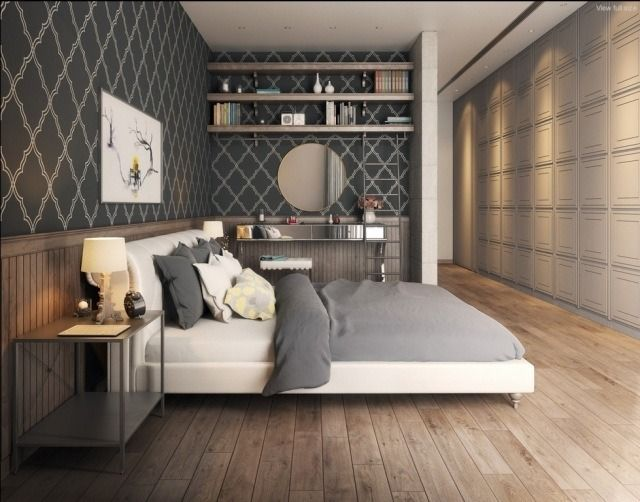 Chambre adulte design – 25 conceptions cool et modernes | Bed room ...