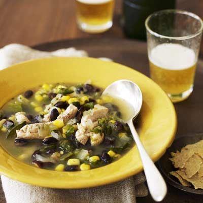 awesome Black Bean Tortilla Soup