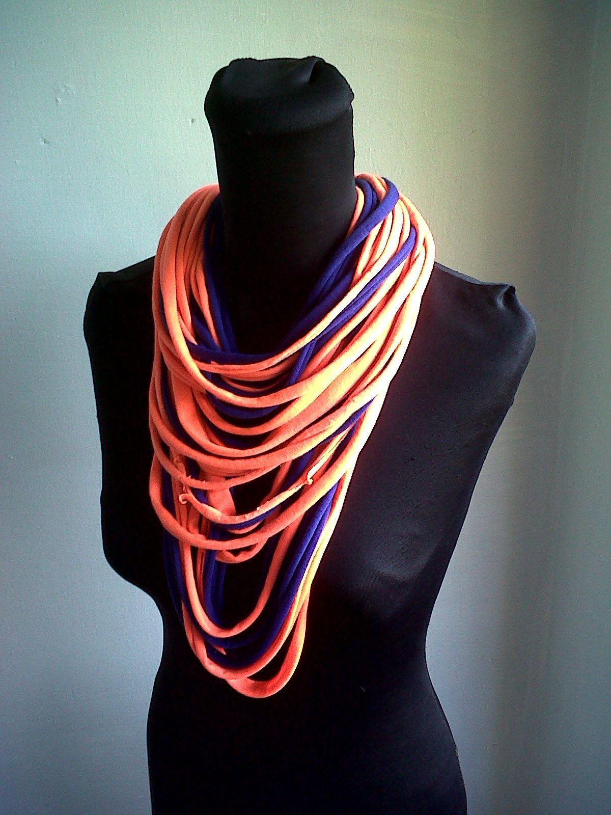 collares colores bufandas musthave coloridas vibrantes neon