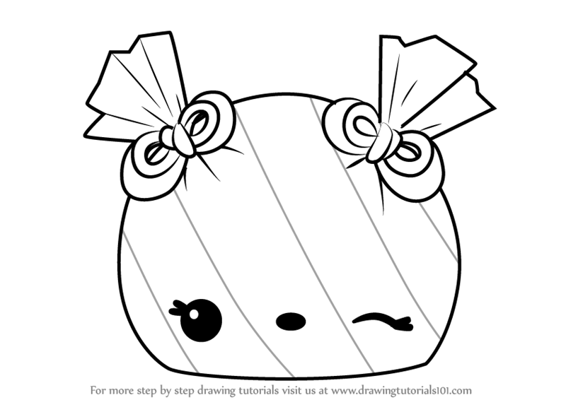 Learn How To Draw Lily Lemony From Num Noms Num Noms Step By Step Drawing Tutorials Cute Coloring Pages Doodle Coloring Drawings