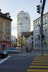 Haus weststrasse loeliger strub architekten 2012 z rich for Modernes haus zurich
